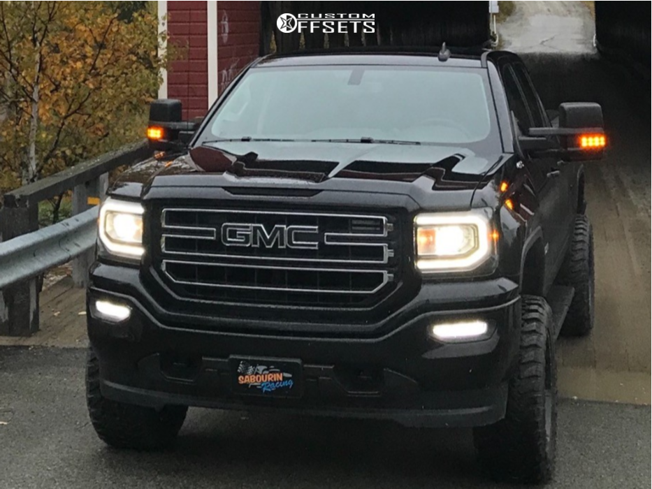 2 2018 Sierra 1500 Gmc Rough Country Suspension Lift 5in Fuel