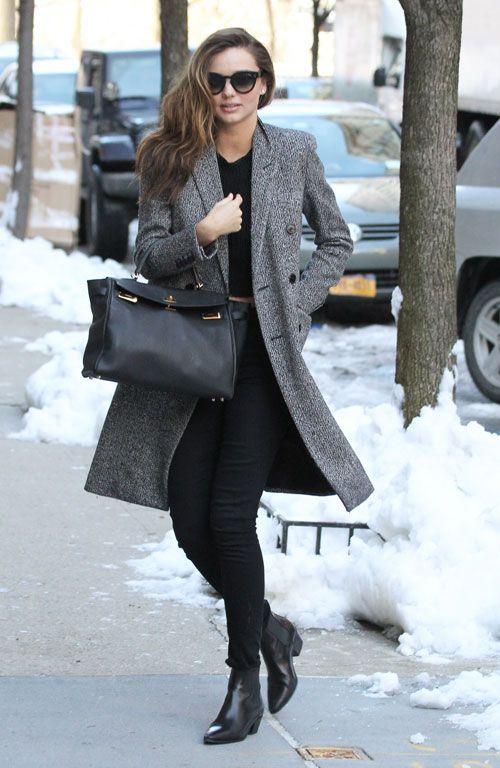 Winter Celebrity Street Style In 2019 Things To Wear