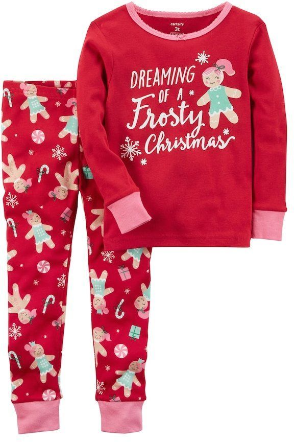 194cc16d63c0 Carter s Baby Girl Dreaming of a Frosty Christmas