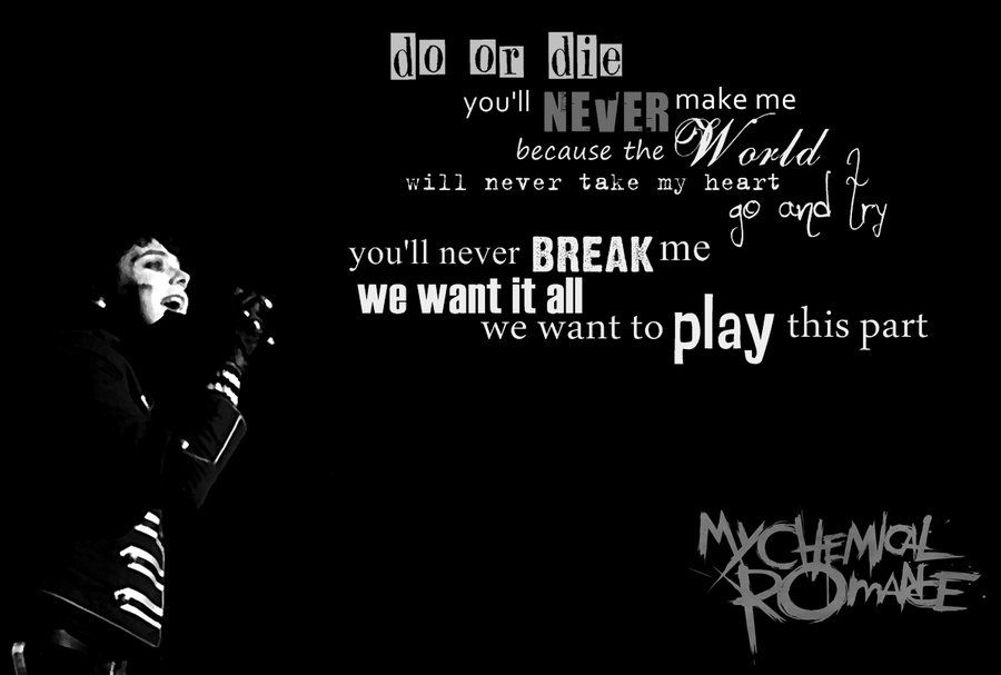 Welcome to the Black Parade-no one song will ever mean more to me ...