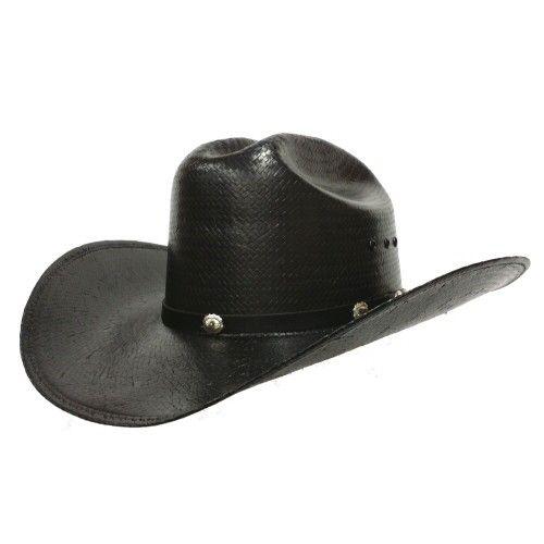 Tim McGraw Shape 10X Black Straw 4