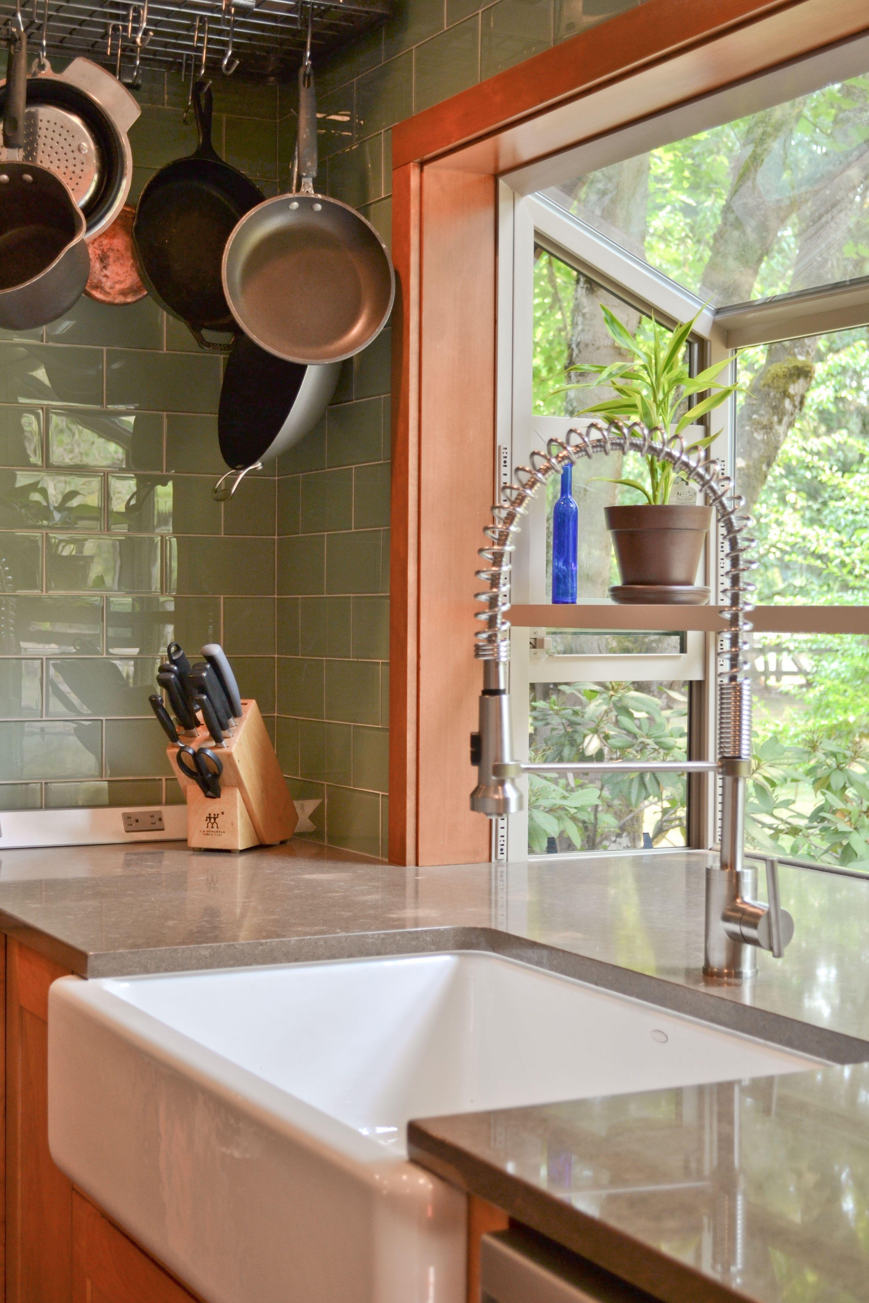 kitchen sink window kitchen garden window