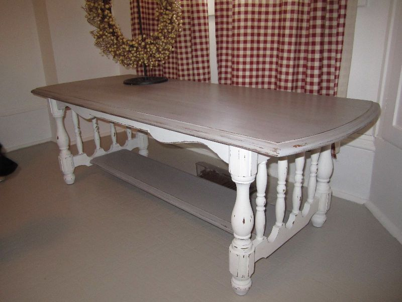 First table rustic solid wood coffee table with