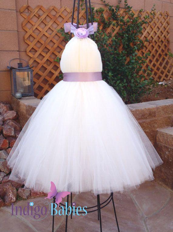 Tutu dress flower girl dress ivory off white tulle by indigobabies tutu dress flower girl dress ivory off white tulle by indigobabies jos dress mightylinksfo Images
