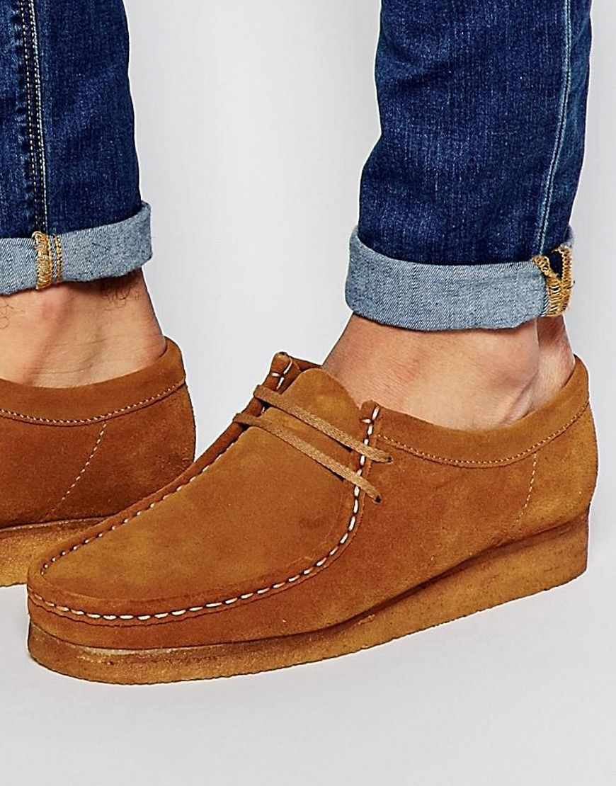 a1c9e102128b Clarks Original Wallabee Suede Shoes   Outfit ideas   Shoes, Suede ...