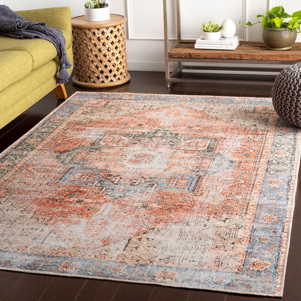 Decor 140 Almira Distressed Medallion Rug Kohls With Images Beige Area Rugs Area Rugs Rugs