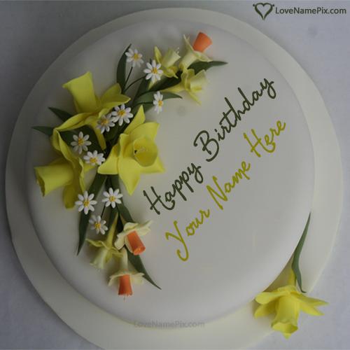 Create Online Beautiful Birthday Cake Name Generator Happy