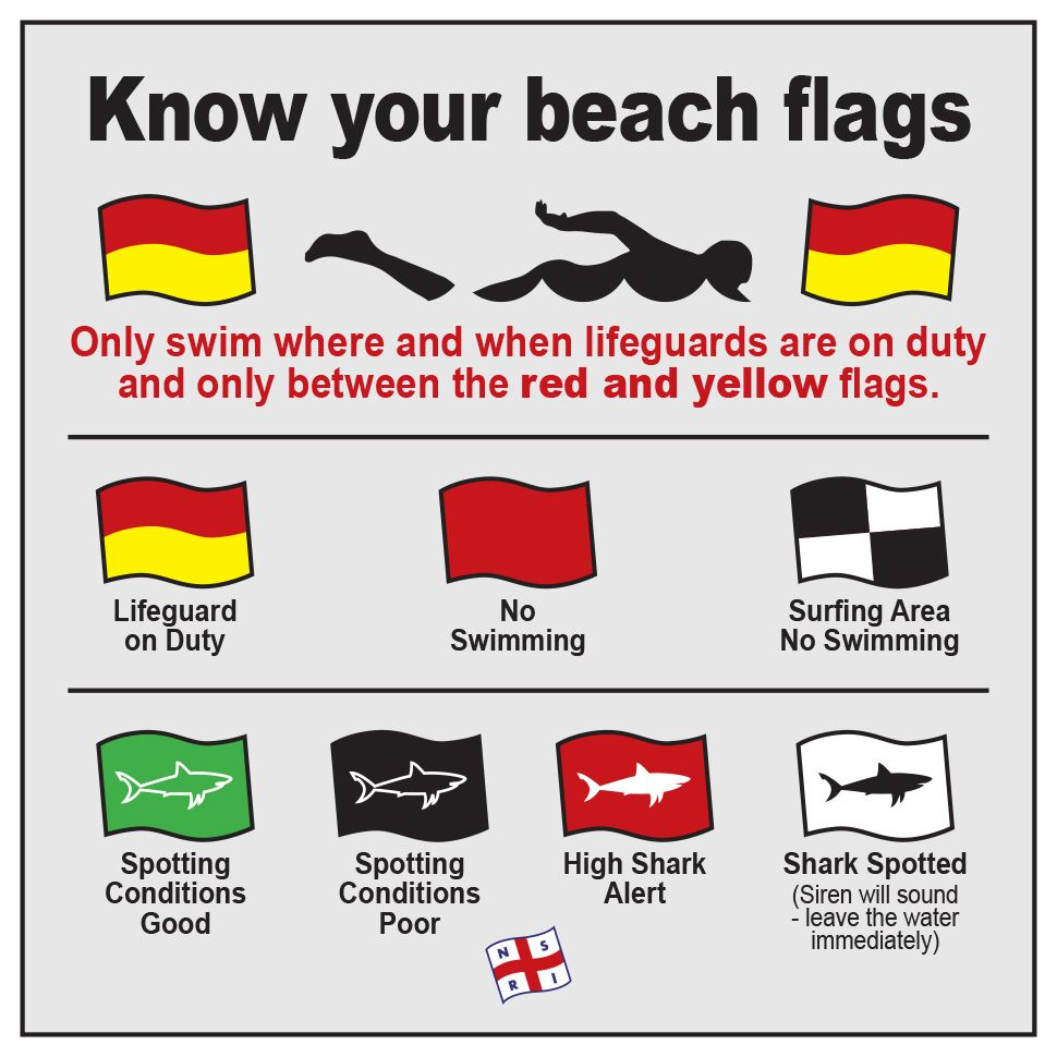 South African beach flags What do they mean? Beach
