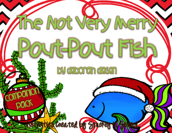 The Not Very Merry Pout Pout Fish Companion Pack Pout Pout Fish Fish Activities Fishing Christmas