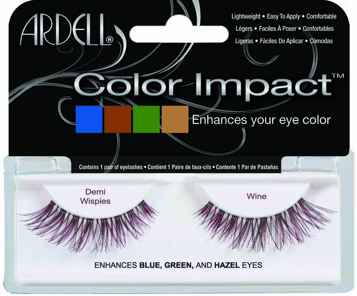 Ardell Color Impact Demi Wispies - Wine