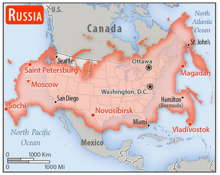 Someone Compared The Sizes Of 22 Countries To Usa With A Real Scale Perspective Map Usa Map Country Maps