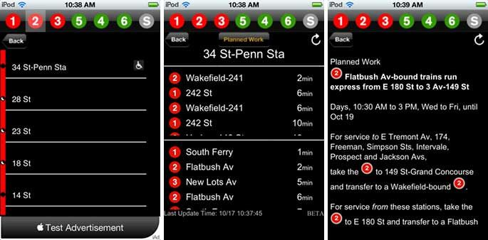 NYC Subway App Official New York City Subway System App
