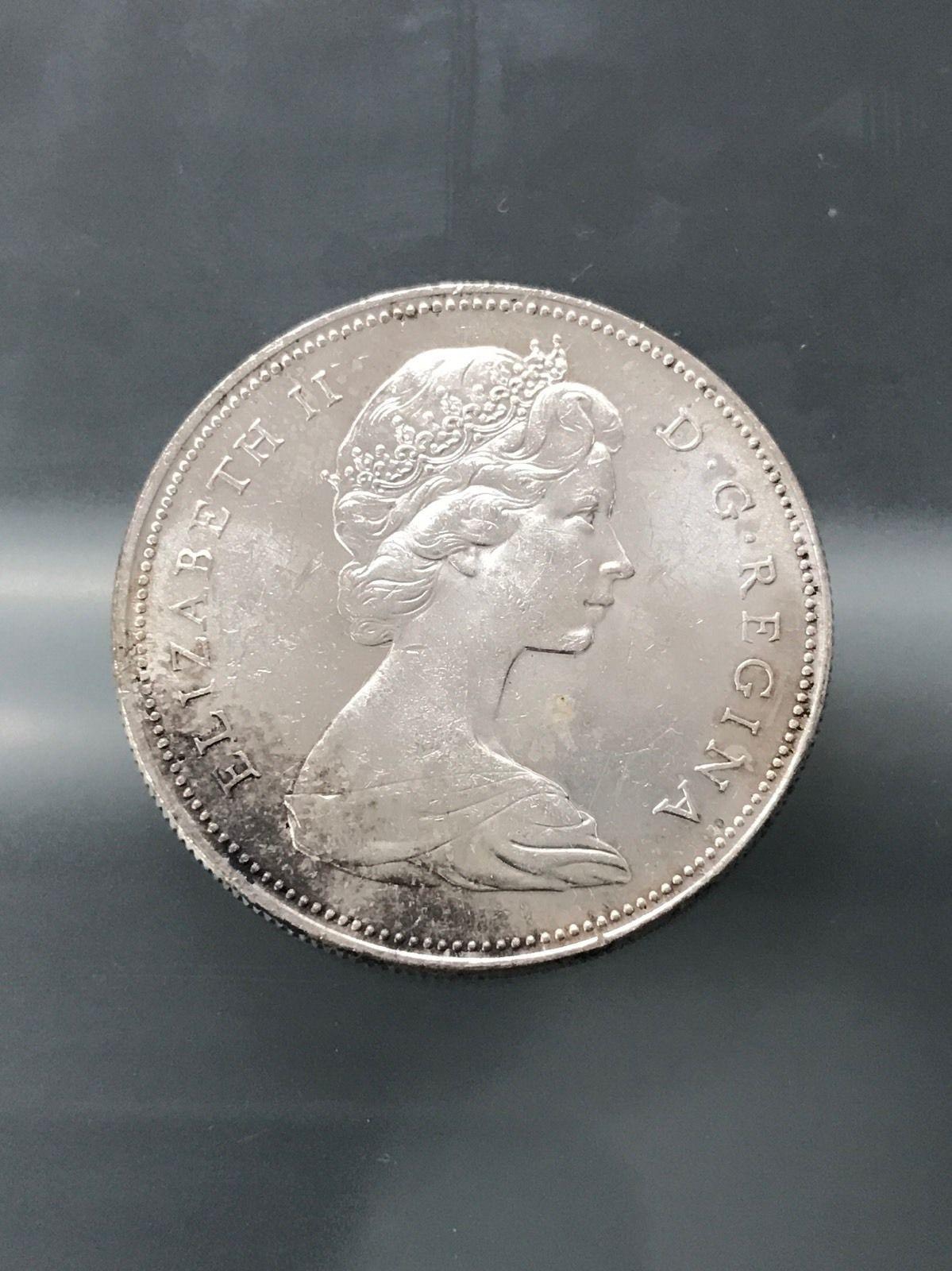1966 S 1 Silver Canada Dollar Large Beads 4 22 17 Shopnetone Dollar Silver Beads
