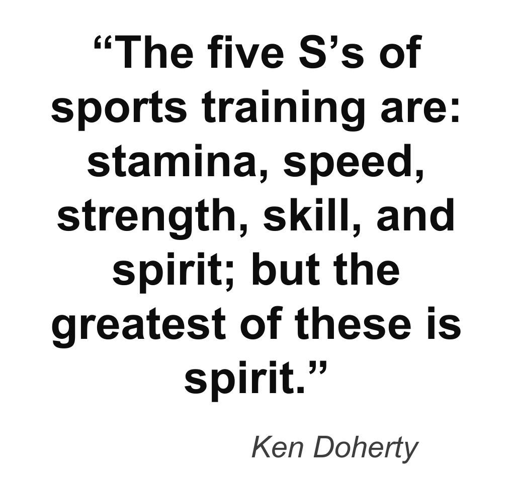 The Five SS Of Sports Training Are Stamina Speed Strength