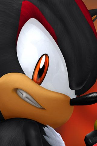 Shadow The Hedgehog Iphone Background Mega Site Wallpapers