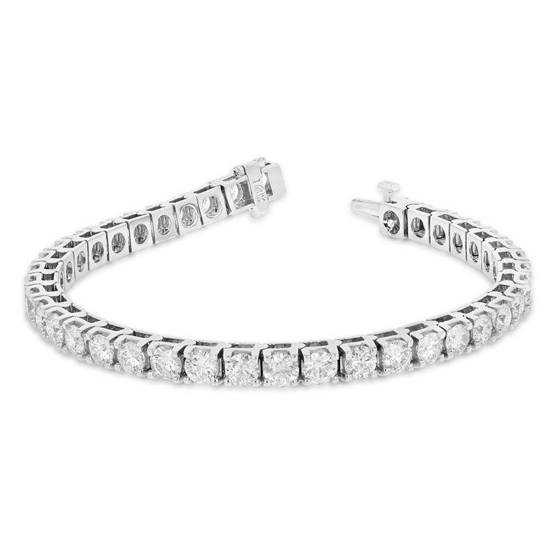 10 Ct T W Diamond Tennis Bracelet In