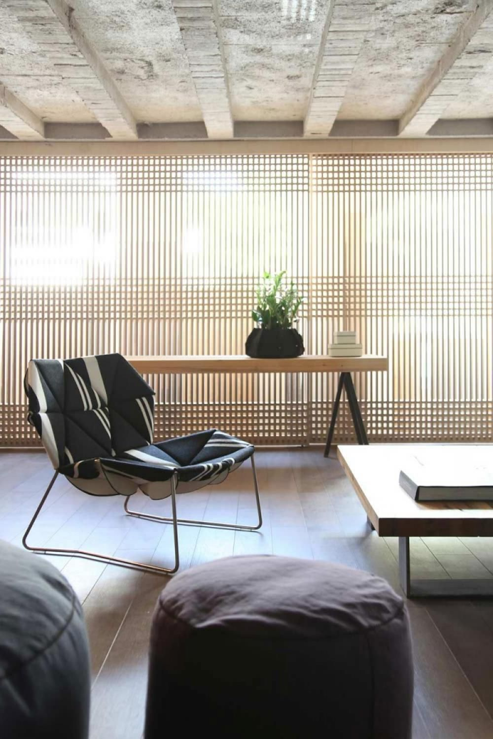 Good House Air Circulation And Bright Light Interior Minimalist With Natural Portable Garden Home Design