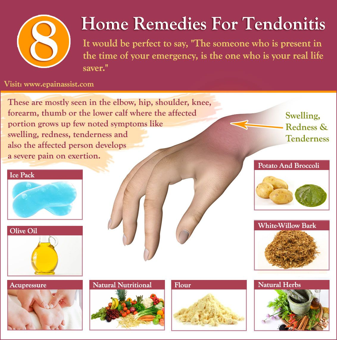 Home Remedies For Tendonitis Epainassist Pinterest Homeopathy Cure For Rheumatoid Arthritis Holistic Remedy Rheumatoid Arthritis