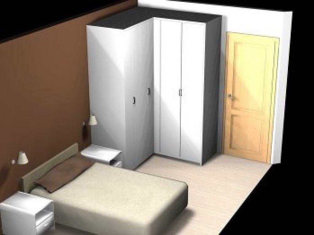 Armario esquinero en habitacion de dormitorio ayuda - Armarios esquineros dormitorio ...