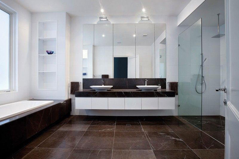 contemporary bathroom - Decoist Bathroom Pinterest Interiors