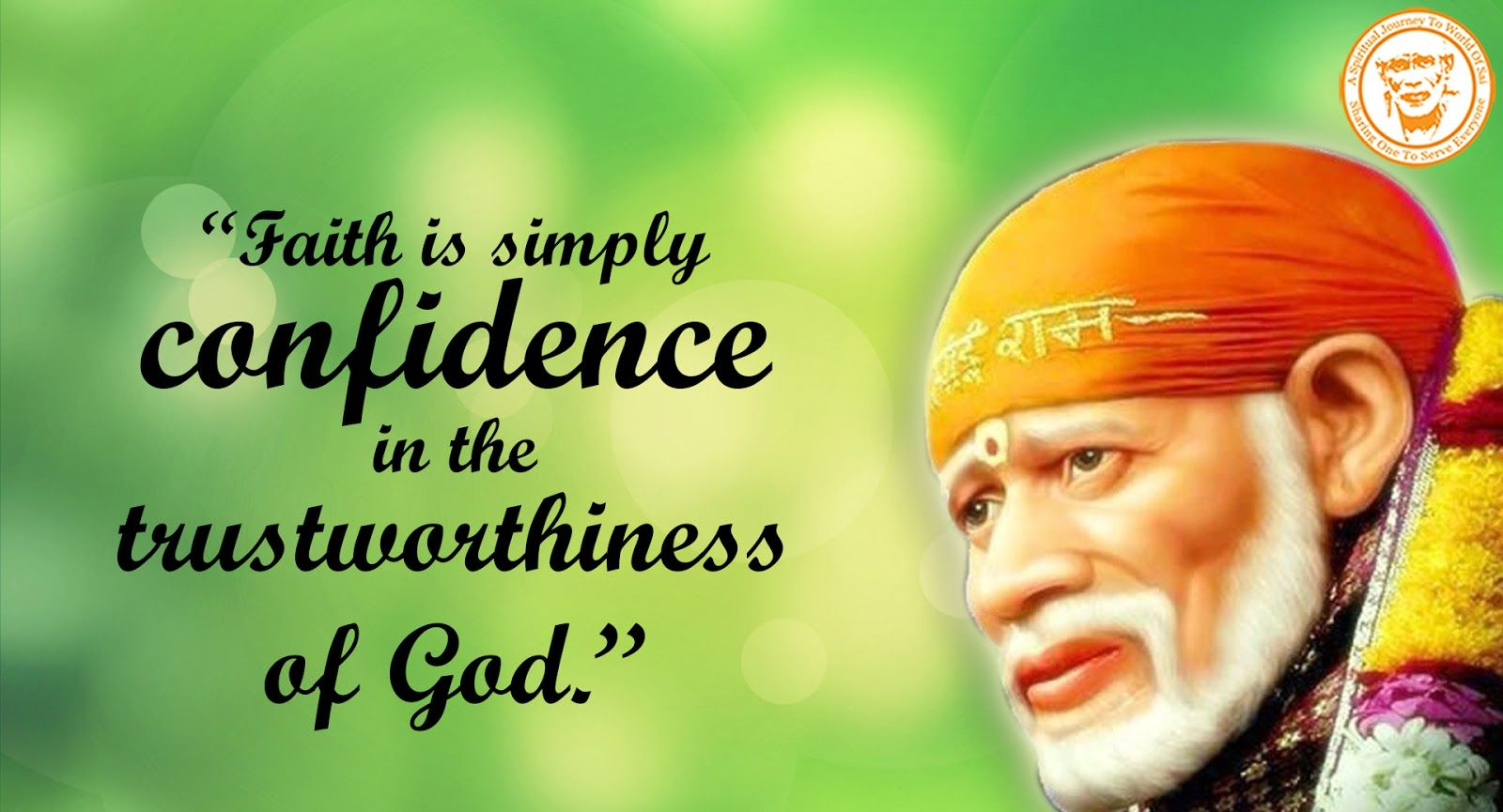 Two Ways of Understanding Lord Sai Baba of Shirdi - Shirdi