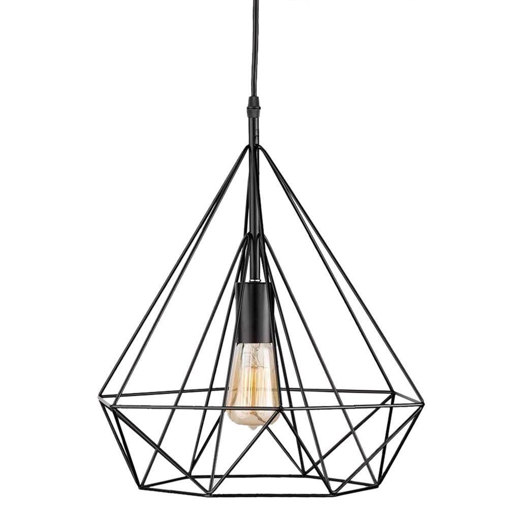 Geometric Diamond Wire Ceiling Lamp/Ceiling Lamps/Lighting ...