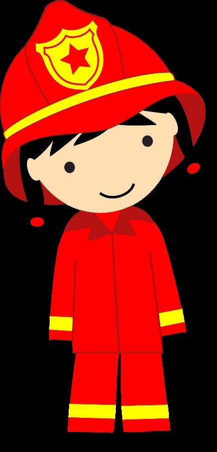Bombeiros E Policia Female Firefighter Clipart 433x900 Firefighter Clipart Cartoon Clip Art Firefighter