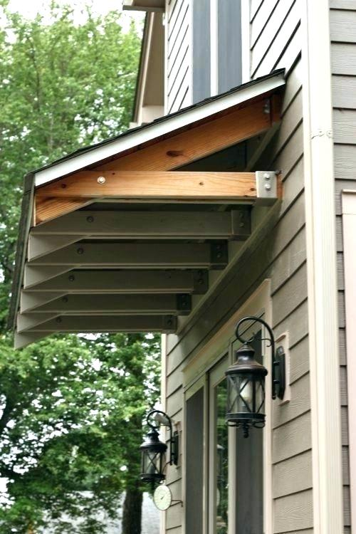 Over Door Awning Ideas Awesome Wooden Awnings For Windows Awning Ideas Over Door Canopy Garage Door Aw Modern Farmhouse Exterior Door Awnings Front Door Awning