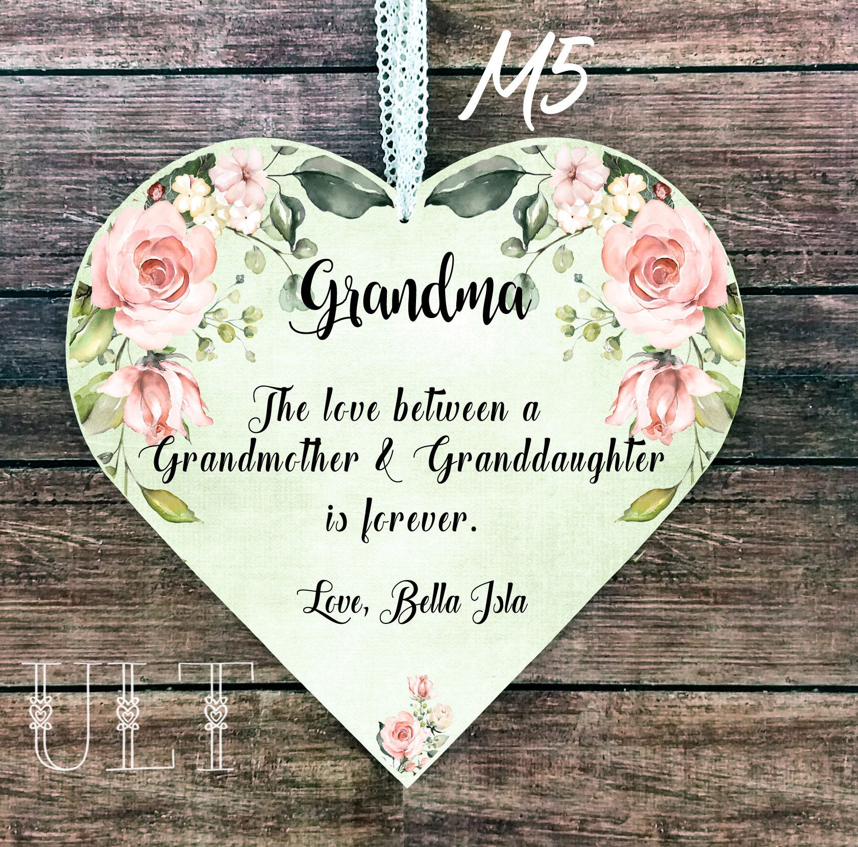 Grandma Mother S Day Gift Grandma Gift Personalized Gift From