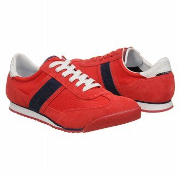 Tommy Hilfiger Claud Shoes (Red) - Men's Shoes - 13.0 M