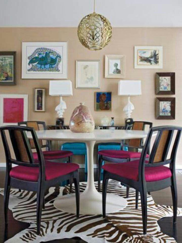 Explore Eclectic Dining Rooms And More