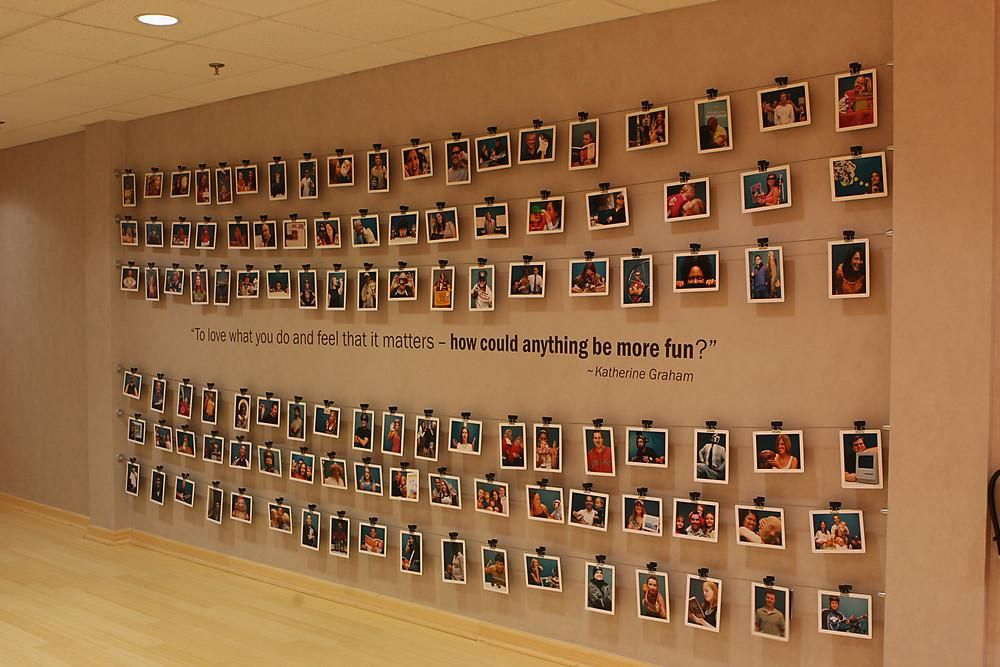 Creative Ways To Display Quotes: Awesome 100+ Awesome Corporate Wall Photo Gallery Ideas