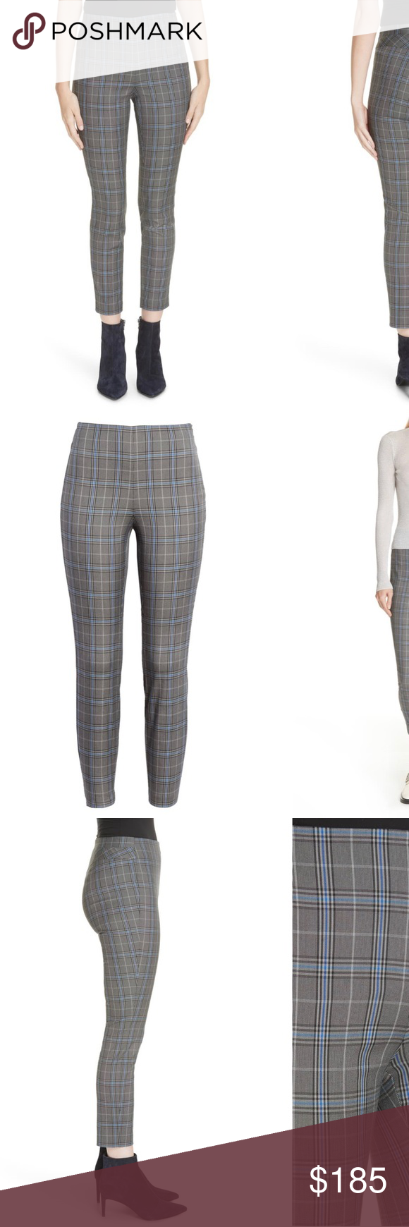 Rag Bone Simone Plaid Crop Pants Worn Only Once An Angular Yoke At The Back Of The Waistband Creates A Flawless Fit In Trousers Pattern Cropped Pants Pants