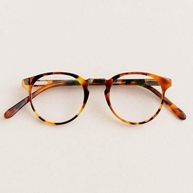 A.R. Trapp round glasses, J.Crew, via  Kat Ellis   Wit + Delight   Specks    Pinterest   Óculos, Óculos de grau e Acessórios 516a21ff1f