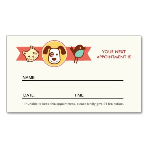 Pet care appointment business card templates animal pet care pet care appointment business card templates friedricerecipe Images