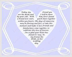 friendship poems wedding Friendship Quotes