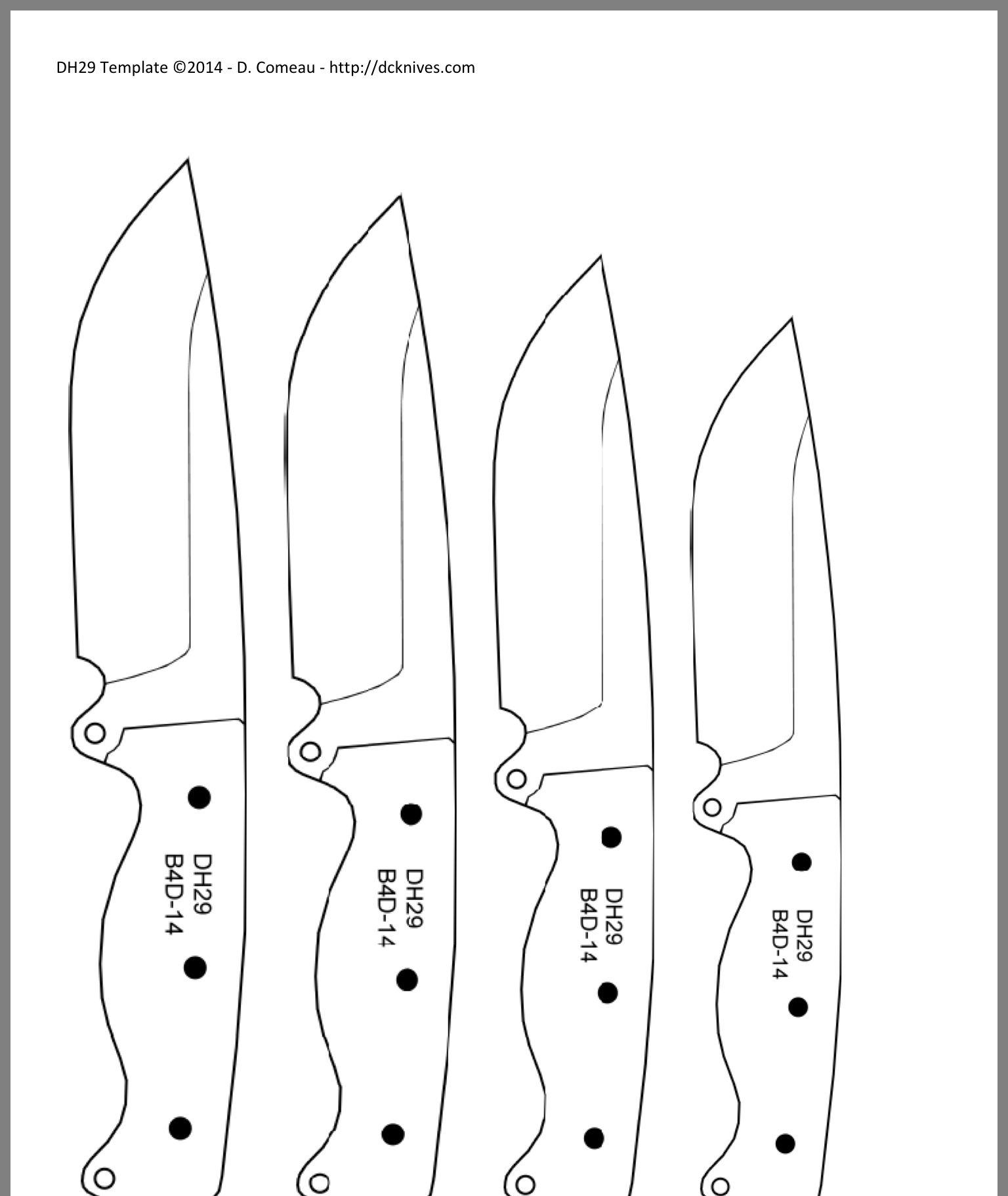 24+ Knife blade design templates inspirations