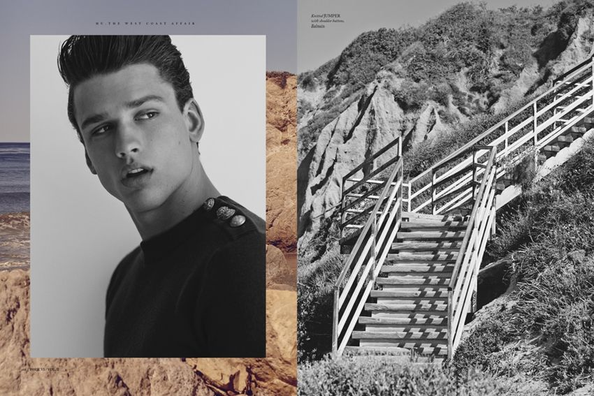 "before you kill us all: COVER & EDITORIAL Hercules Universal Fall/Winter 2014 ""On The Road"" Feat. Simon Nessman by Bruno Staub"