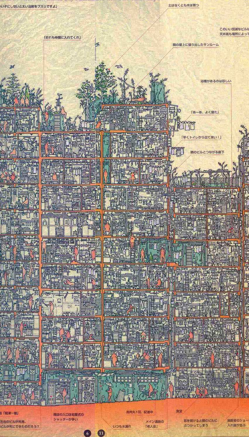 Kowloon Walled City Map httpwwwhongkongbuzzcommust seekowloon city walled park Kowloon