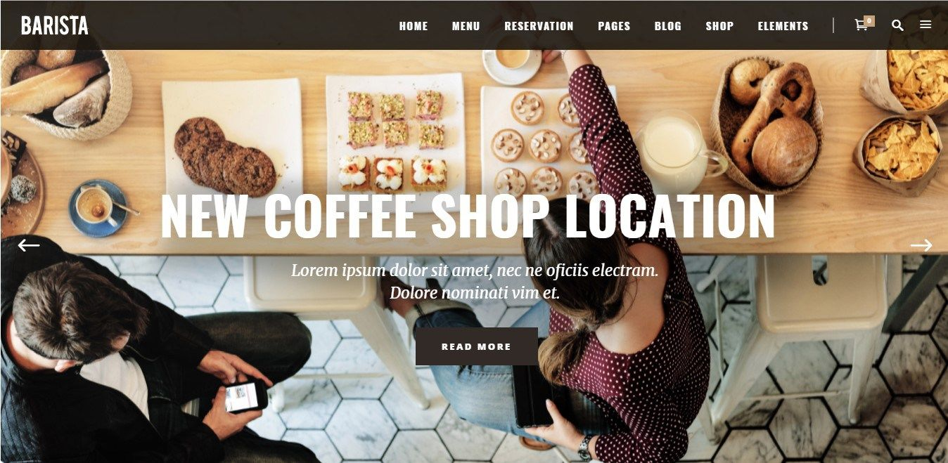 Coffee Shop Website Examples (With images) Coffee shop