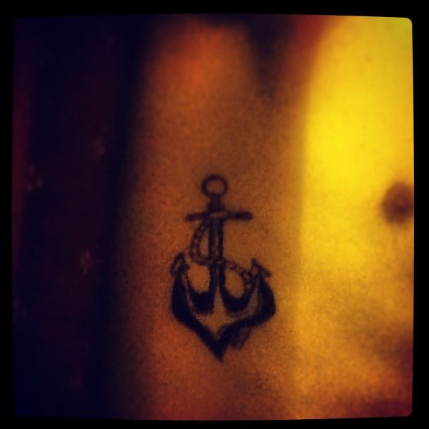 Men's #anchor #tattoo