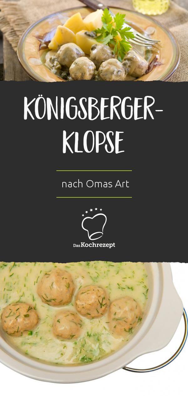 Königsberger-Klopse nach Omas Art