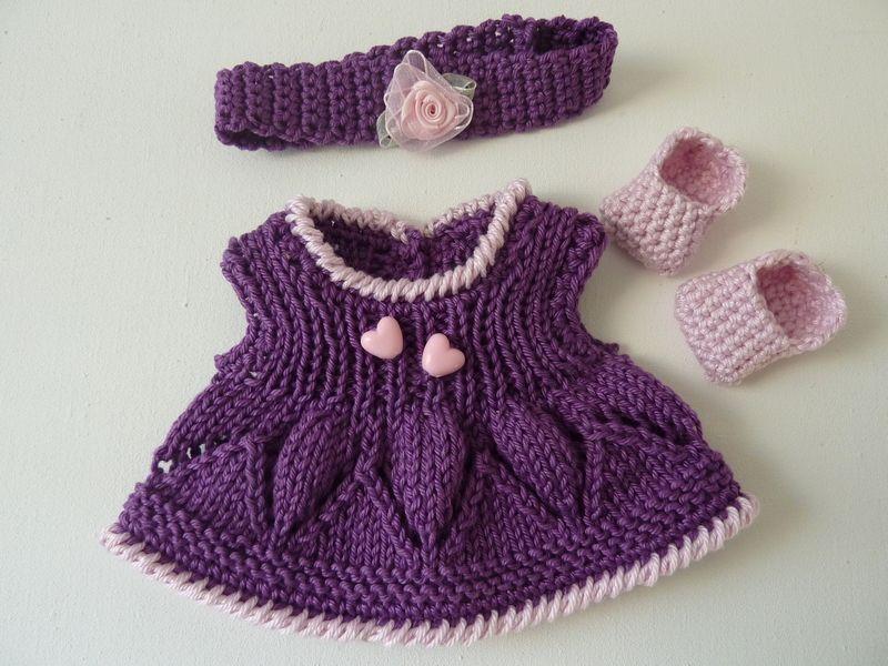 Puppenkleidung Kleid Passend Für Monchhichi Monchichi Größe 20 Cm