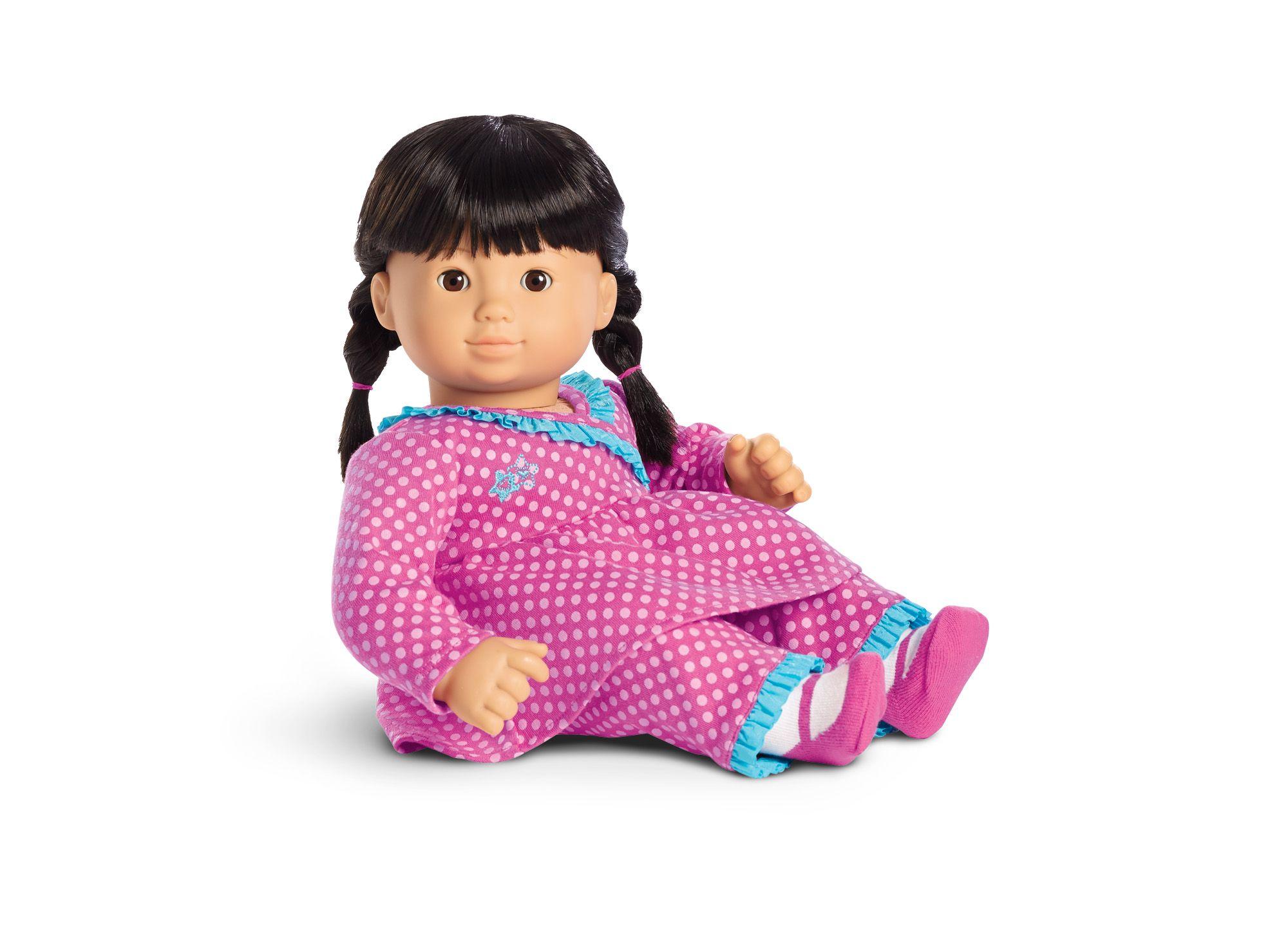 Pink Polka Dot Pajamas for Dolls Bitty Baby Pinterest