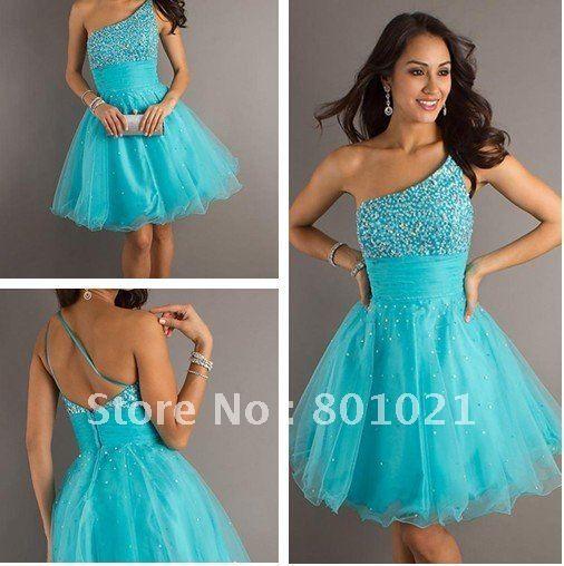 Zapatos para un vestido azul turquesa