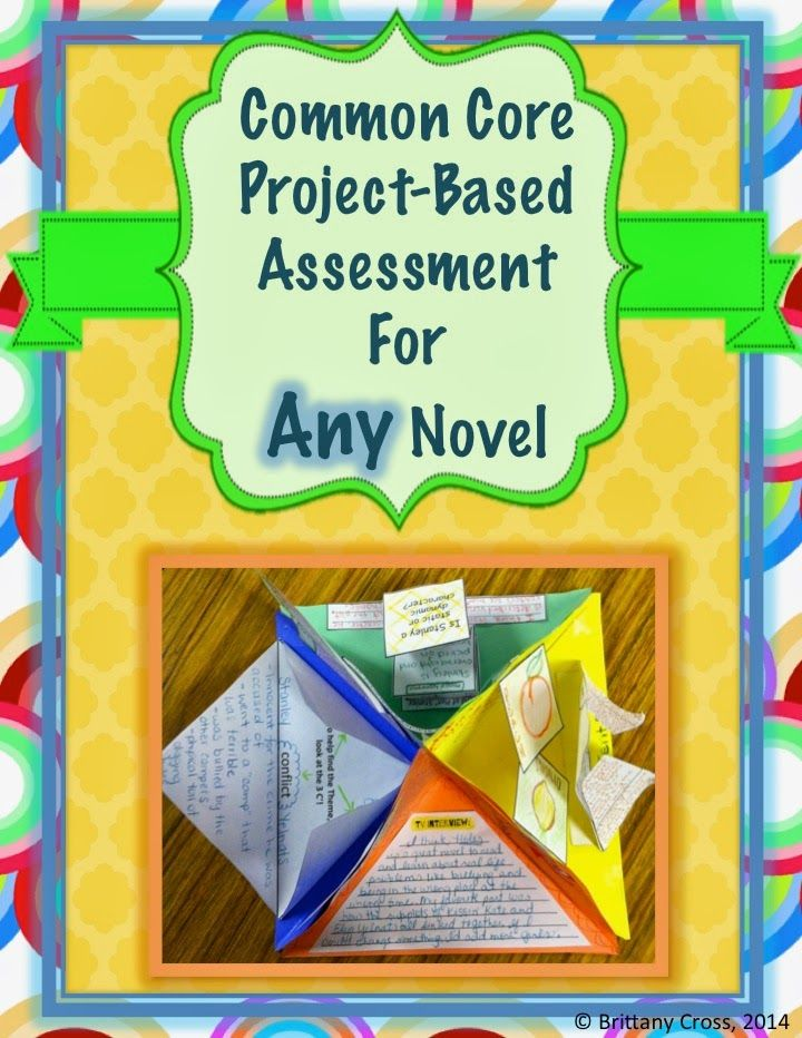Language Arts Bliss: Common Core Project-Based Assessment for ANY