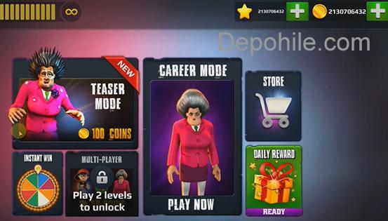 Scary Teacher 3d V5 3 2 Mod Altin Elmas Hileli Apk Indir 2020 Oyun Hile Kart Yapimi