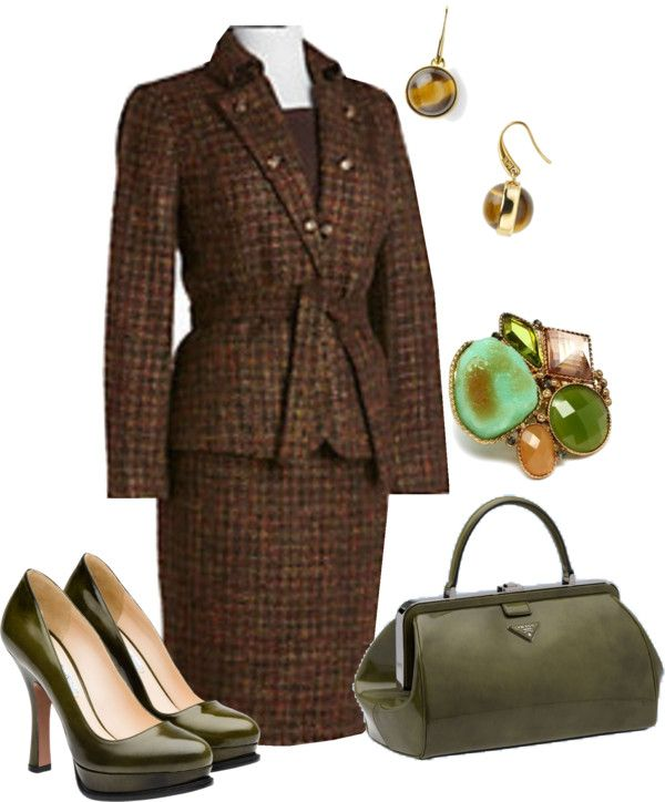 """""""Olive Green"""" by edythe-hamilton ❤ liked on Polyvore"""
