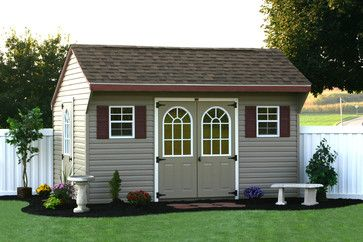 Charmant Amish Made Vinyl Sheds NY