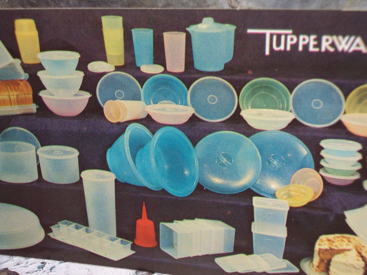image detail for vintage tupperware party invitation post card vintage tupperware